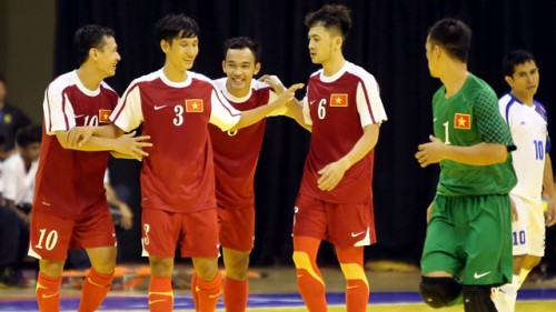 ĐT futsal Việt Nam thắng đậm trận thứ 2 tại giải vô địch Đông Nam Á 2014