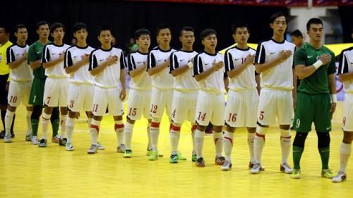 Việt Nam rơi vào bảng có Brazil và Colombia, tại giải futsal quốc tế Brazil