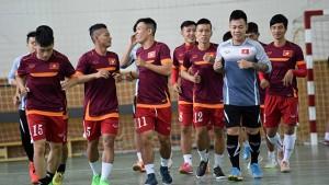 Hướng tới VCK FIFA Futsal World Cup 2016: ĐT Futsal Việt Nam hội quân trở lại