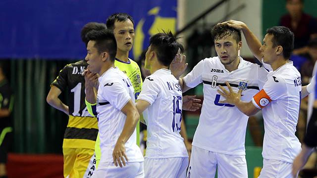 Thái Sơn Nam gần chạm vào ngôi vô địch giải futsal VĐQG 2016