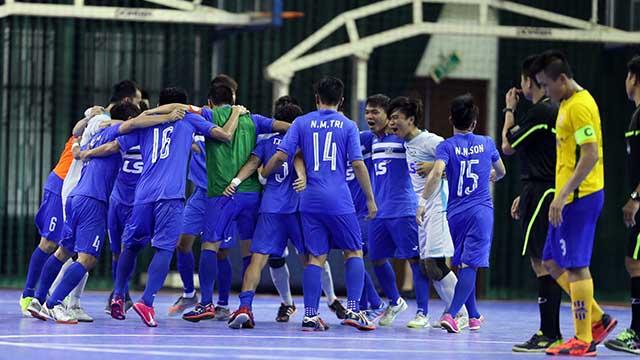 Thái Sơn Nam vô địch giải futsal VĐQG 2016