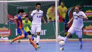 Thái Sơn Nam giành hạng nhì giải futsal các CLB Đông Nam Á
