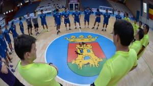 Đội tuyển futsal Việt Nam sẵn sàng cho trận đấu với Tây Ban Nha
