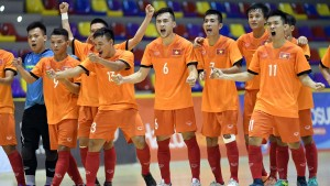 Đội tuyển futsal Việt Nam có trận thắng đầu tiên trong chuyến tập huấn ở Tây Ban Nha